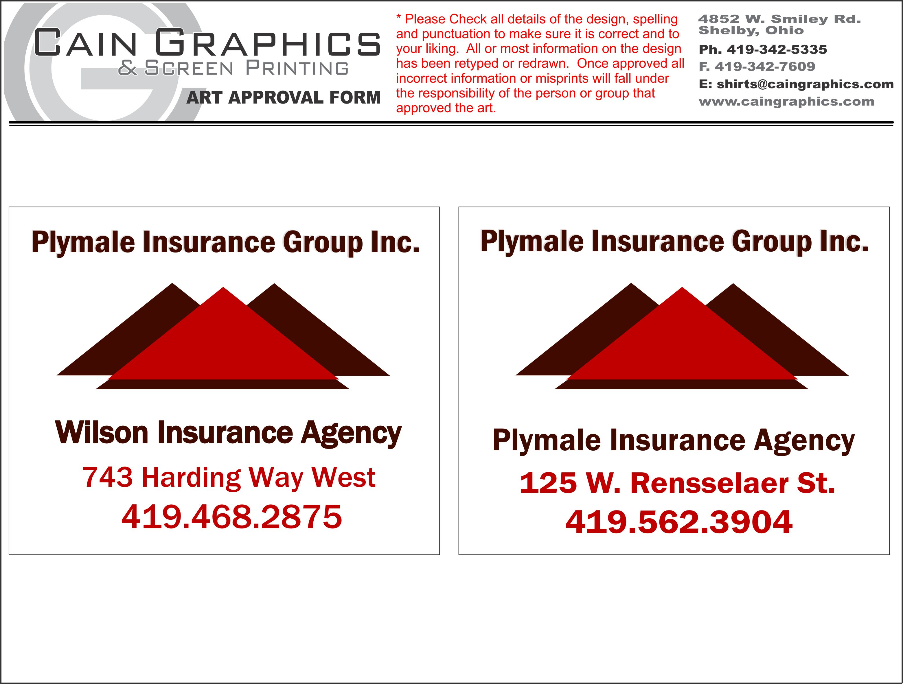 PLYMALE INSURANCE GROUP,INC